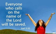 who calls lord will be saved