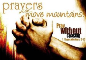 Prayer-move mountains