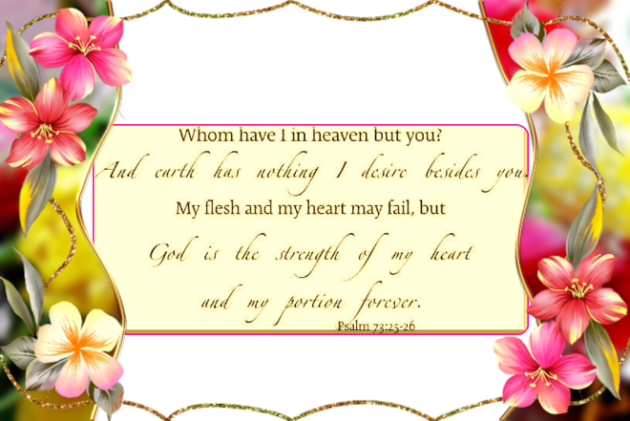 psalm 73 25 26 hope
