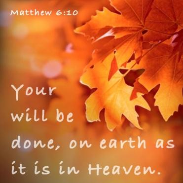 Matt 6 10
