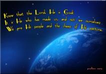 psalm 100 3