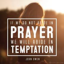 abide in prayer