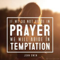 abide in prayer