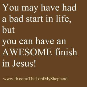 Awesome finish in Jesus