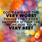 Everything can lead you closer to God