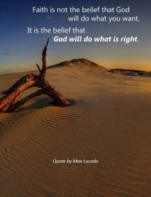 God will do what is right
