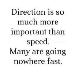 God's direction