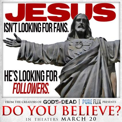 Jesus is looking for followers