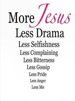 more Jesus