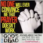Only prayer can