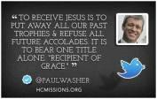 recipient of Grace