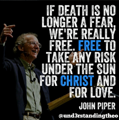 risk for Christ and His love