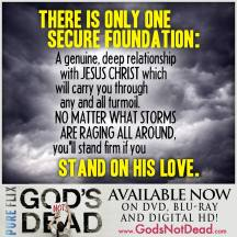 Stand on Jesus' Love