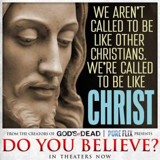 We are called to be like Christ