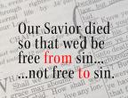 We are set free