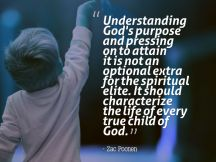 Understanding God's purpose