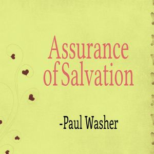 assurance of salavation