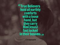 Hold Jesus Firmly