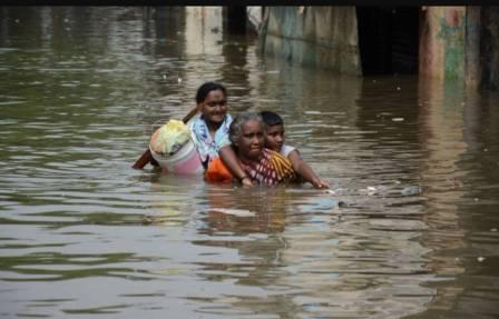 chennai flood 1